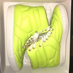 Maison Martin Margiela MM6 Neon High Top Sneakers